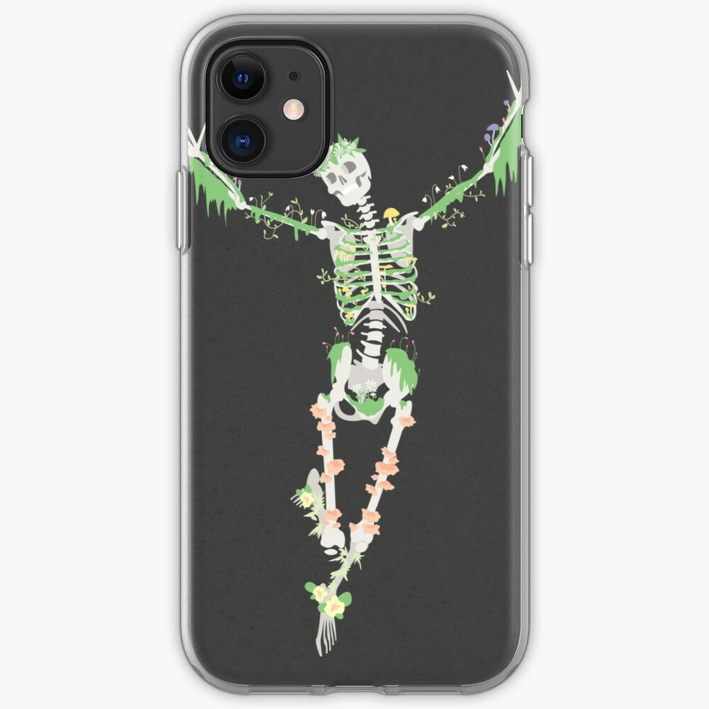 I Don't Care, I'm Dead iPhone Soft Case