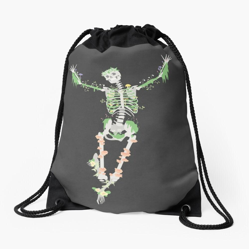 I Don't Care, I'm Dead Drawstring Bag