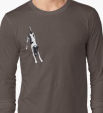 Downward Dog (Right Chest) T-Shirt