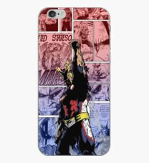 All Might, Symbol of Peace! Phone Cover by KarlMoose (Coloured) iPhone Case