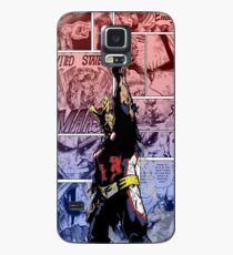 All Might, Symbol of Peace! Phone Cover by KarlMoose (Coloured) Case/Skin for Samsung Galaxy