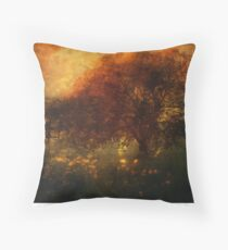 Toward a secret sky ... Throw Pillow