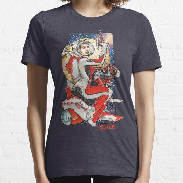 Pinstripe Essential T-Shirt