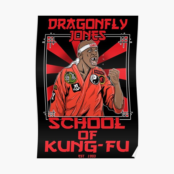Dragonfly Jones Poster