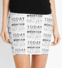 Challenge of a mountain  Mini Skirt