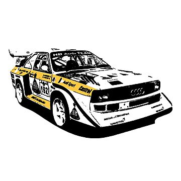 Audi Group B replica (coloured) by Holneub