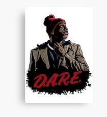 Tyrone Biggums Dare 2 Canvas Print