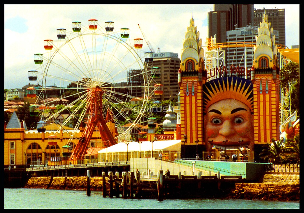 Luna Park, NSW by gailrush
