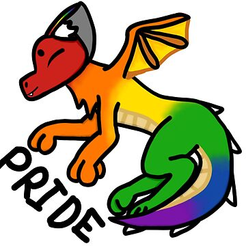 PRIDE! dragon  by Fluffernuggets