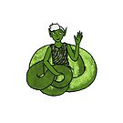 Green Snake-Boy by GhostGiraffe