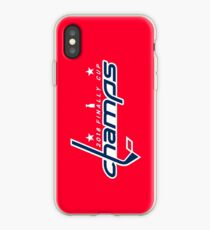 Capitals Stanley Cup Champs Phone Case iPhone Case