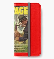 Doc Savage April 1941 iPhone Wallet/Case/Skin