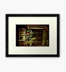 Autumn in Japan:  Convenience Framed Print
