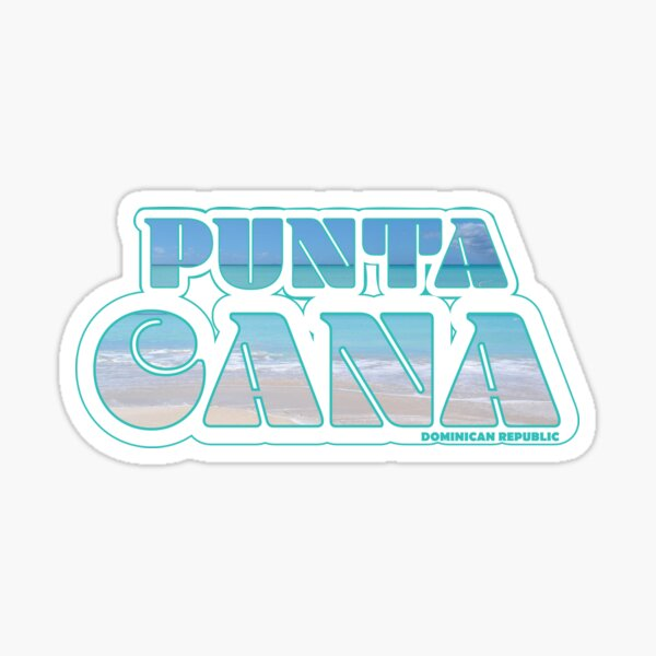 Punta Cana, Dominican Republic Traveler Sticker