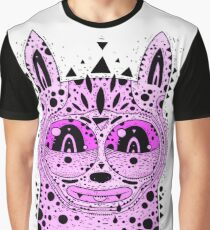 pink sad cat Graphic T-Shirt