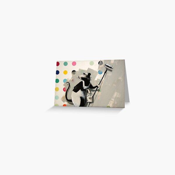 Banksy @ Bristol Museum Greeting Card