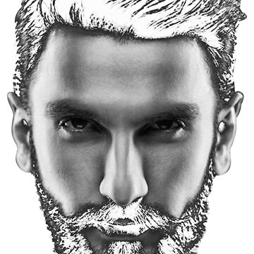 Ranveer Singh Beard by bollywood-tees