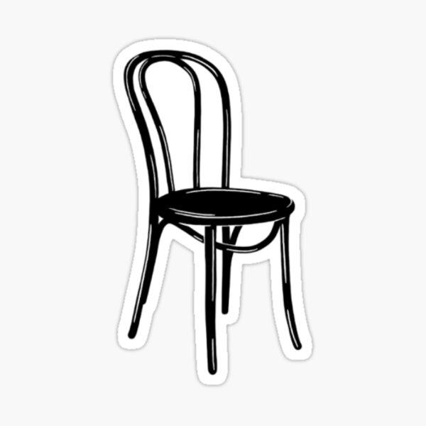 Second City Chair Sticker