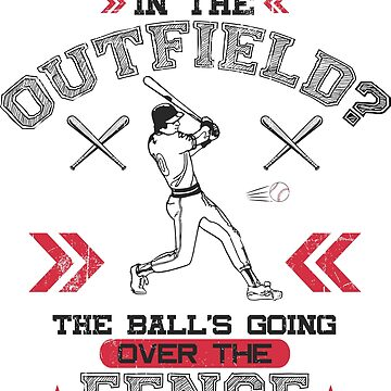 Homerun Hitter - The Ball Is Over the Fence by jslbdesigns