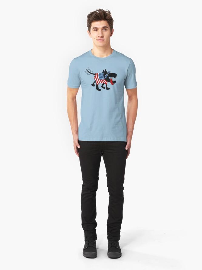 Alternate view of US Dog Slim Fit T-Shirt