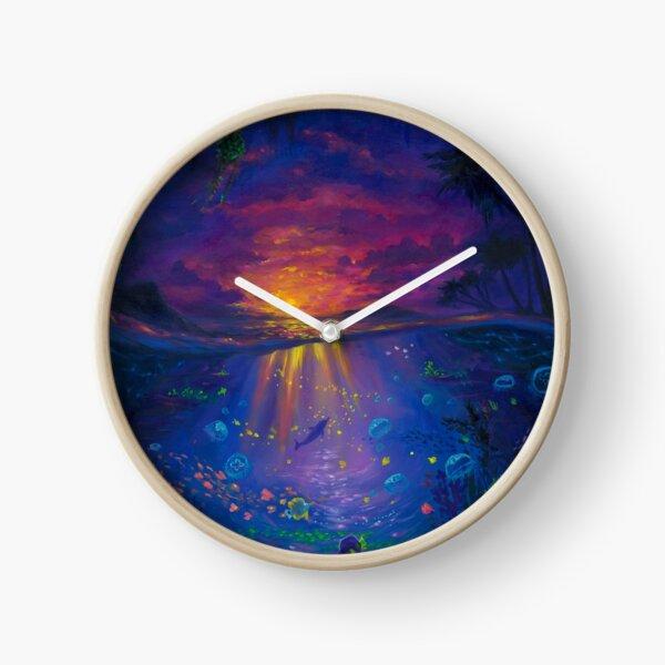 The Cove Underwater Scene Clock