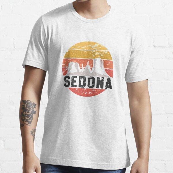 Retro Sedona Arizona Shirt - Family Vacation Red Rocks Gift Essential T-Shirt