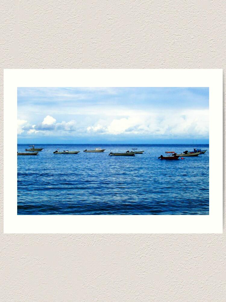 Alternate view of Empty Boats Art Print