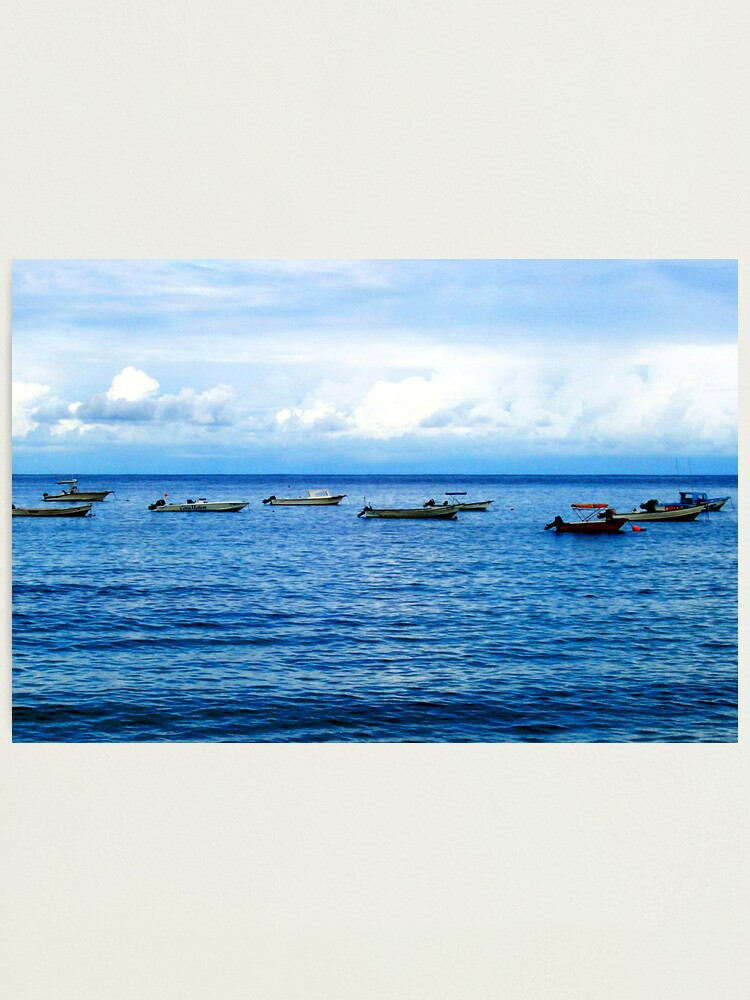 Alternate view of Empty Boats Photographic Print