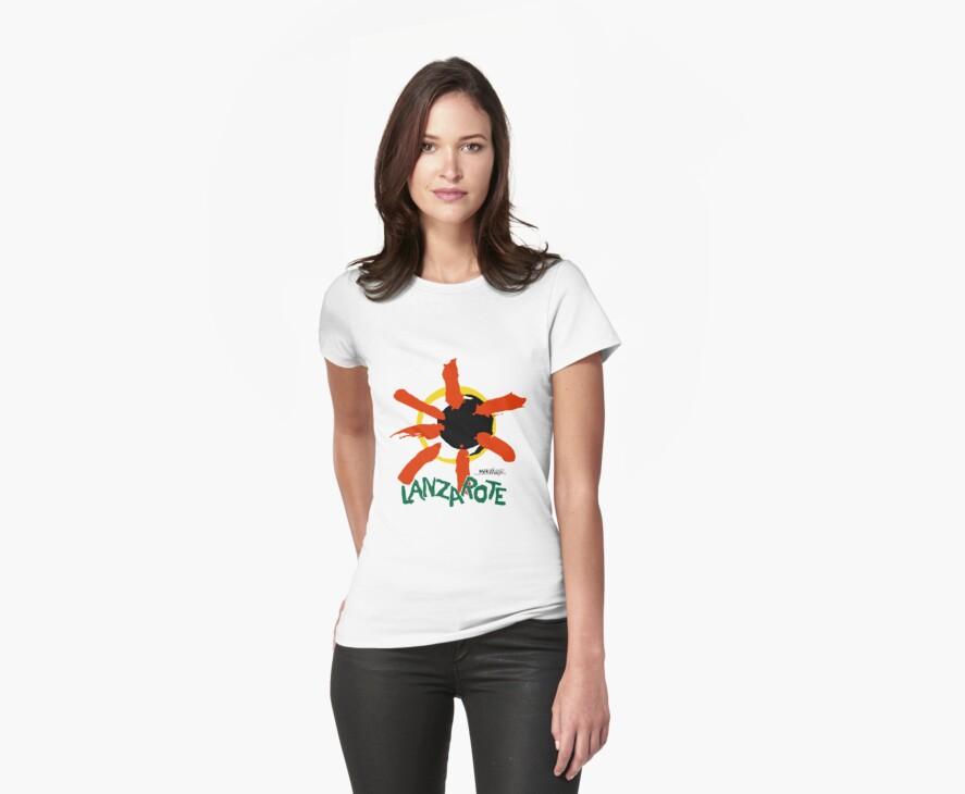 Lanzarote - Large Logo by Elle Draper