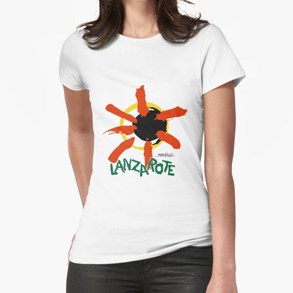 Lanzarote - Large Logo Fitted T-Shirt