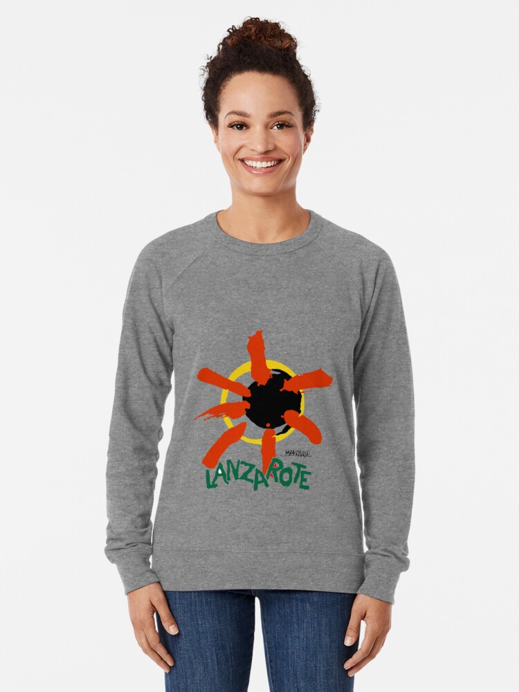 Alternate view of Lanzarote - Large Logo Lightweight Sweatshirt