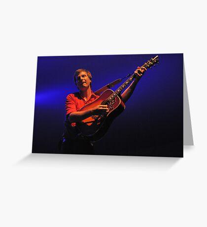 One String Harp Greeting Card