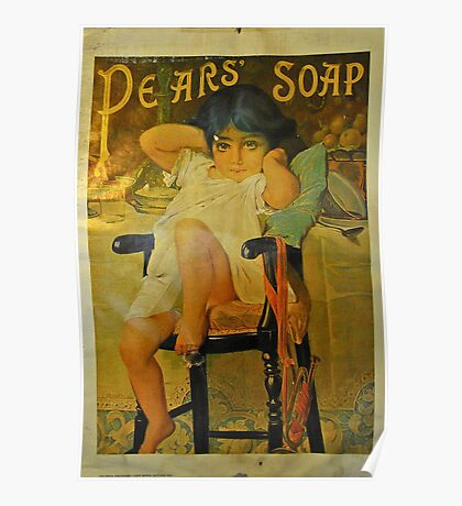 Pears Soap Poster