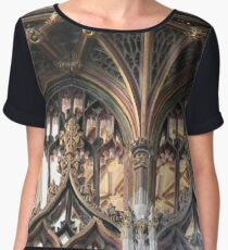 Arches and Shapes upon Arches and Shapes Chiffon Top