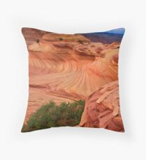 Second Wave #2 Throw Pillow