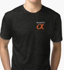 alpha sony Tri-blend T-Shirt