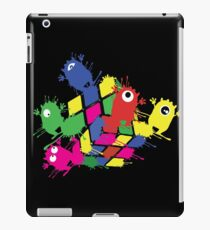 Cube monsters iPad Case/Skin