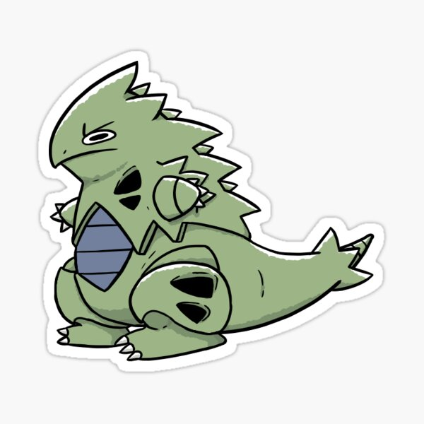 Tiny Tyke Tyranitar Sticker