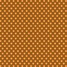 Fish scale pattern 70s colors by pASob-dESIGN