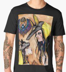 Anubis and Bastet. Men's Premium T-Shirt