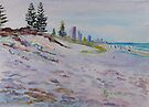 Surfers Paradise Highrises from Broadbeach circa 1984 by Virginia McGowan