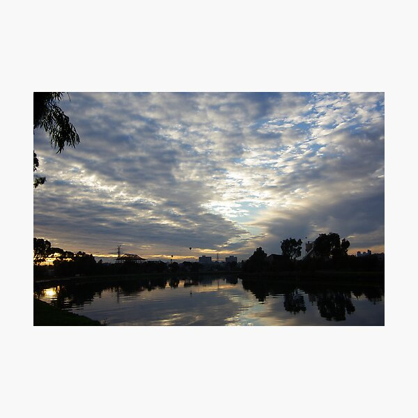 Maribyrnong River Sunrise Photographic Print