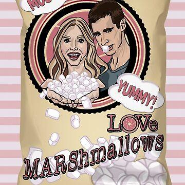 LoVE Marshmallows by jeminabox