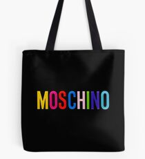 moschino black Tote Bag