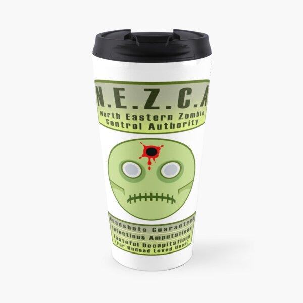 North Eastern Zombie Control Authority Travel Mug