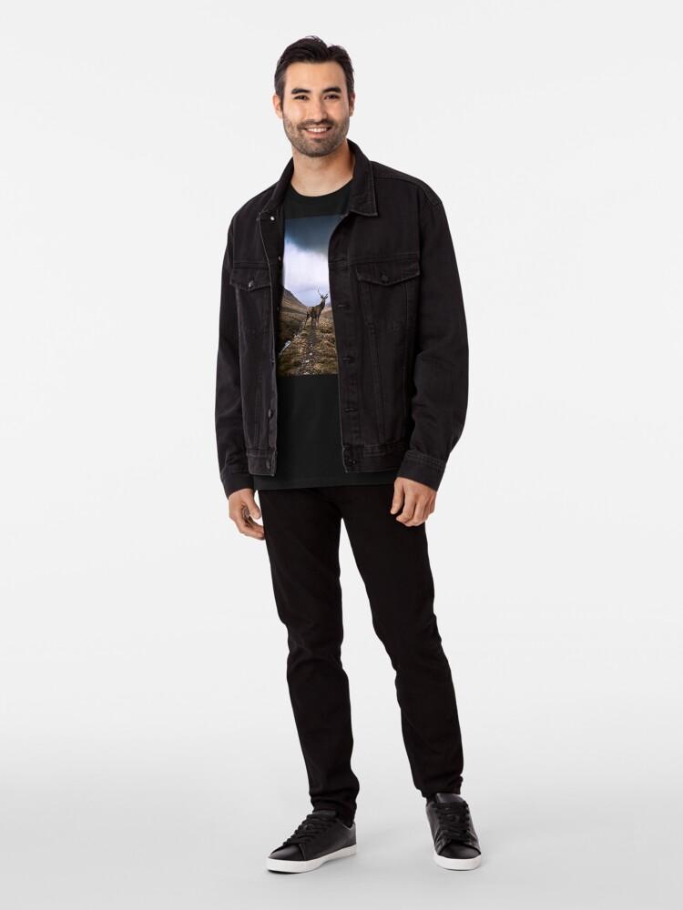 T-shirt premium ''Le Roi des Forêts': autre vue