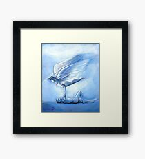 Angel_1 Painting Framed Print