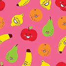 Happy Fruit by Amy Walters