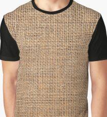 #roughlinen, #burlap, #sackcloth, #sacking, bagging, холст, scrim, cloth, crash, власяница, hairshirt, haircloth, мешковина Graphic T-Shirt
