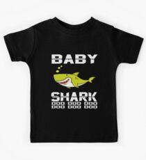 Camiseta para niños Camiseta linda bebé tiburón Doo Doo Doo The Shark Family Apparel